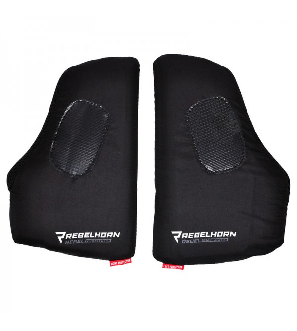 Chest Protector Rebelhorn Black