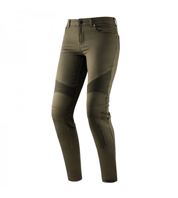 Rebelhorn Vandal Lady Twill Olive Motorcycle Jeans