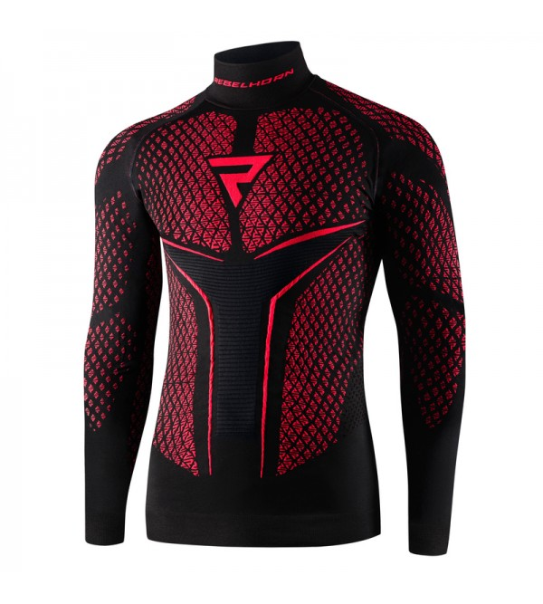 Rebelhorn Thermoactive Shirt Therm II Black/Red