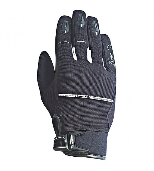 IXON Lady Gloves RS DRY Black-White