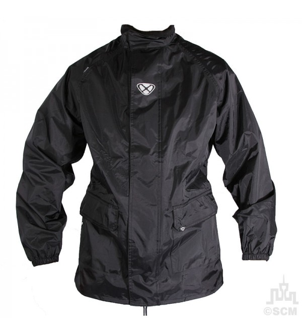 IXON Waterproof Jacket FOG Black