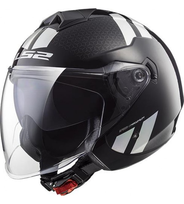 LS2 helmet OF573 TWISTER COMBO Black Rainbow