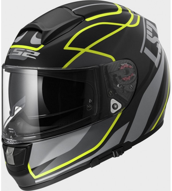 LS2 helmet FF397 VECTOR VANTAGE black yellow