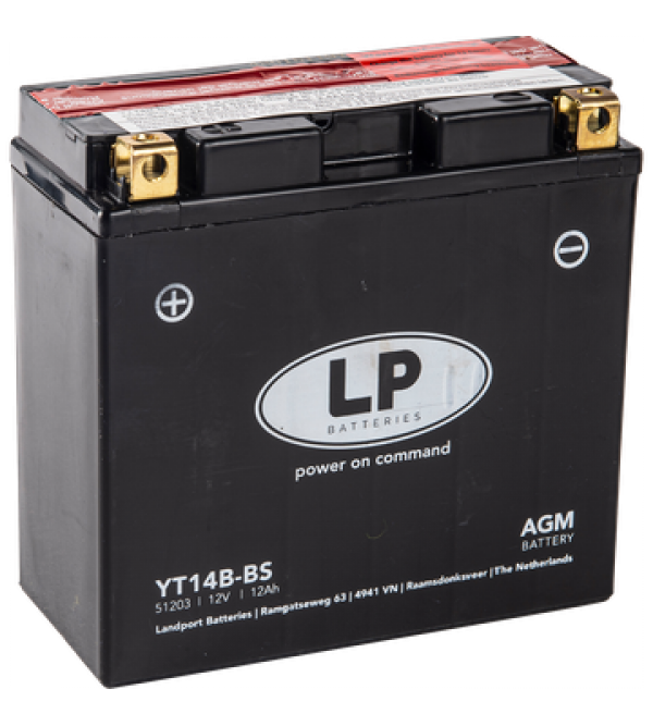 Landport battery YT14B-BS