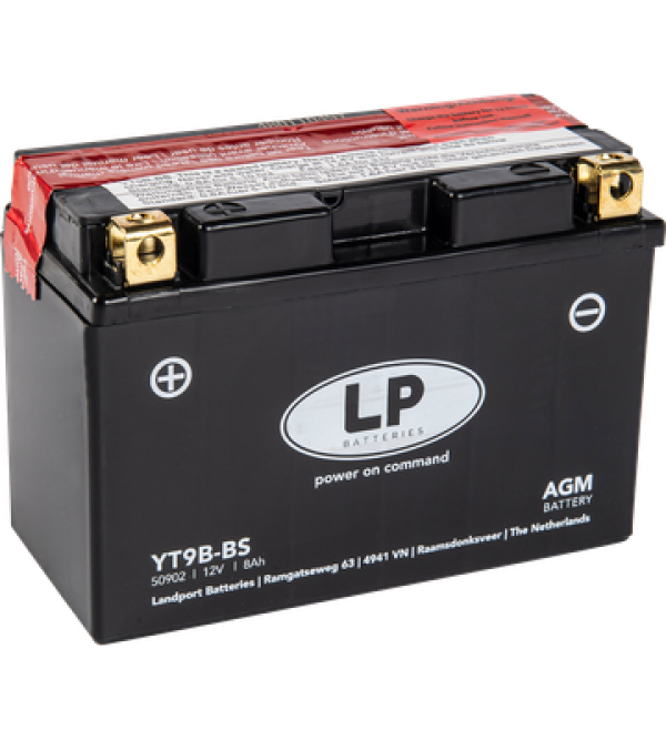 Landport battery YT9B-BS