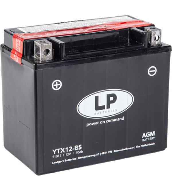 Landport battery YTX12-BS