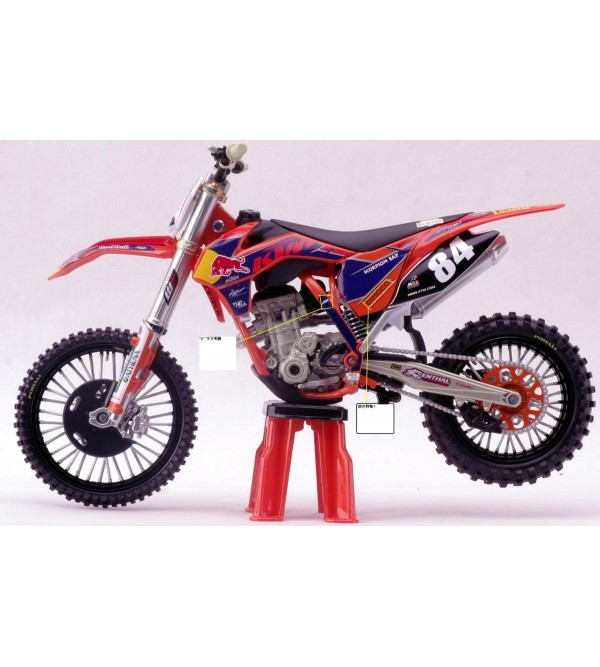 Motorcycle Model KTM Jeffrey Herlings No 84