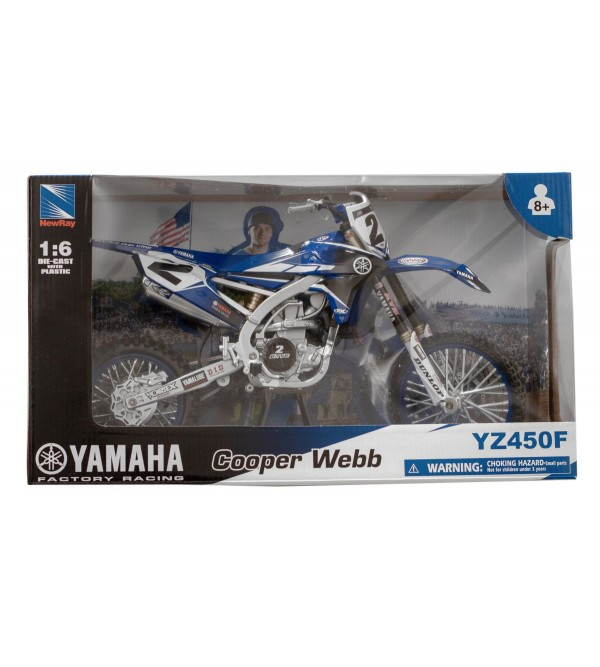Motorcycle Model RHC Yamaha Racing Team C. Webb