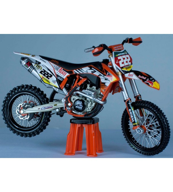 Motorcycle Model KTM Antonio Cairoli No222