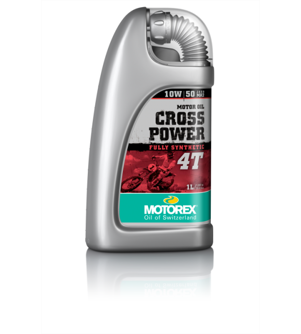 MOTOREX CROSSPOWER 4T10W50 engine oil 1L
