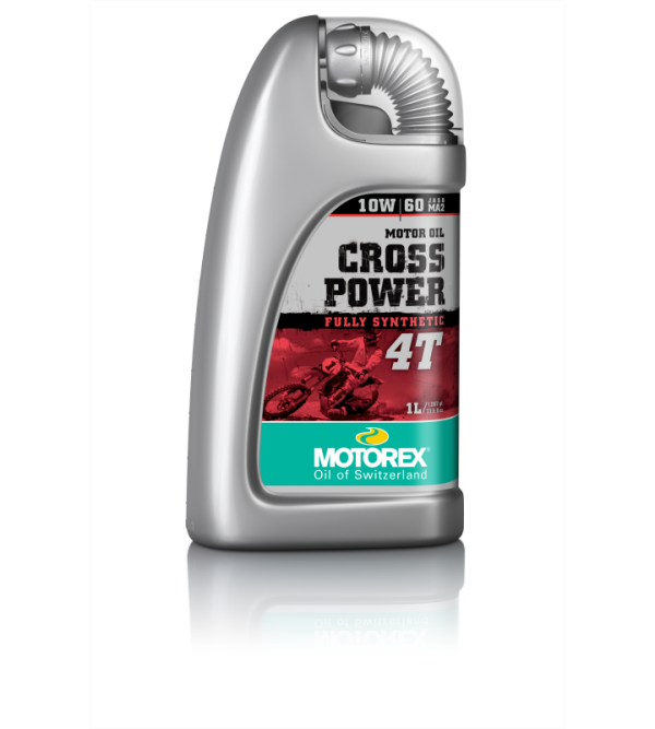 MOTOREX CROSSPOWER 4T10W60 engine oil 1L