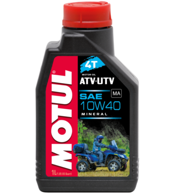 Motul oil ATV-UTV 4T 10W40