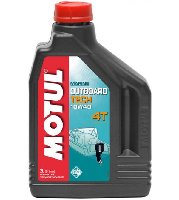 Motul Outboard Tech 4T 10W40 oil