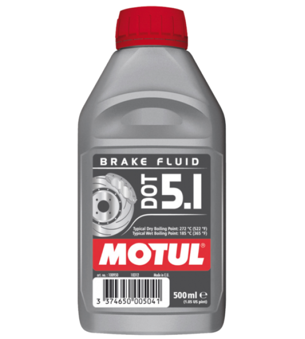 Motul brake fluid DOT5.1