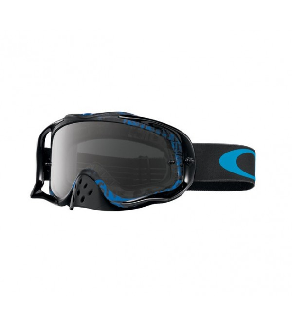 Oakley Brilles Crowbar Mx Distress Tagline Stealth Blue