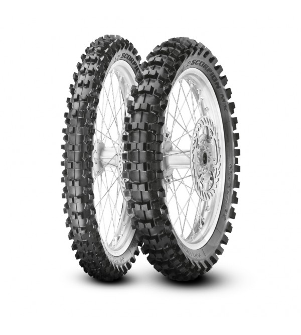 Pirelli tire MX MID SOFT 110/90-19 62 M