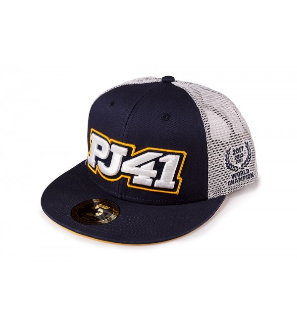PJ41 Snapback Hat Blue/White