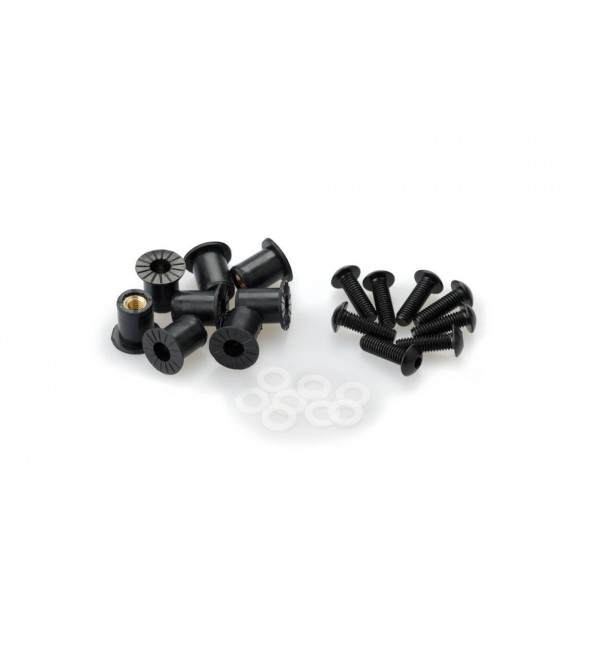 Puig Screw Kit Anodized For Screens for motorcycle...