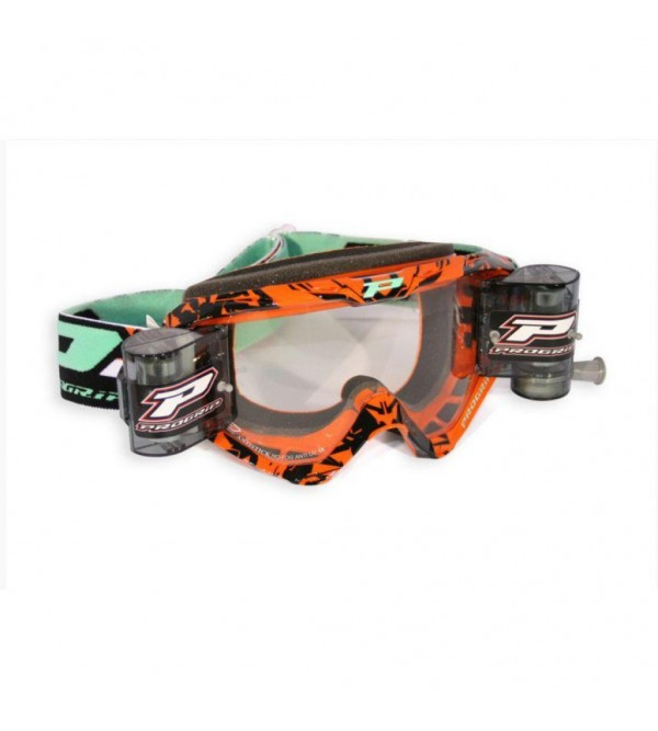 Progrip MX-Goggles 3450 + ROLL OFF mounted