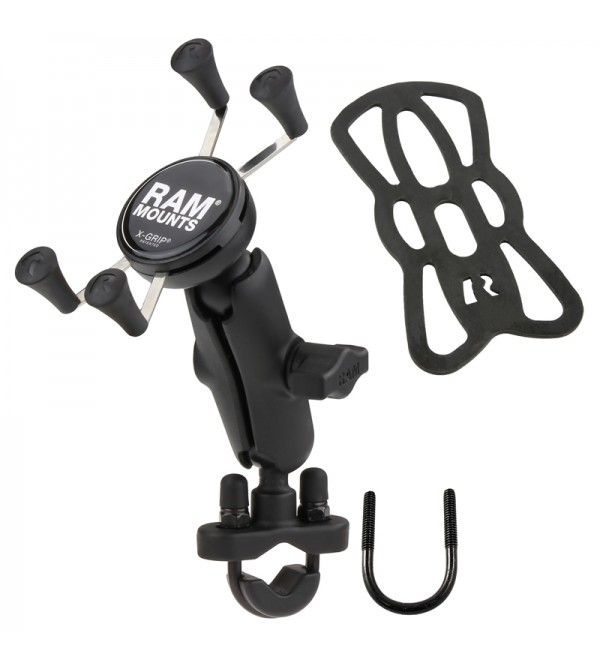 RAM B-149Z-UN7 Phone Mount with Handlebar U-Bolt B...