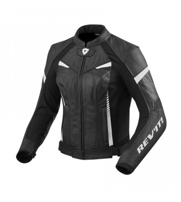 Rev'it Leather Ladies Jacket Xena 2 Black/White