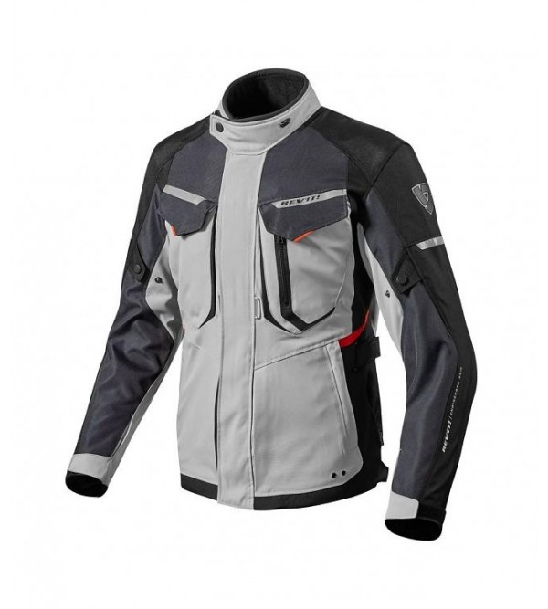 Rev'it jacket Safari 2 silver-red