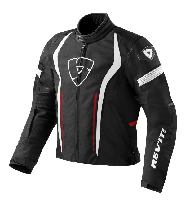 Rev'it jacket Raceway Black-Red