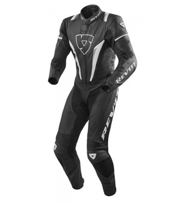 Rev'it One Pice Suit Venom Black/White