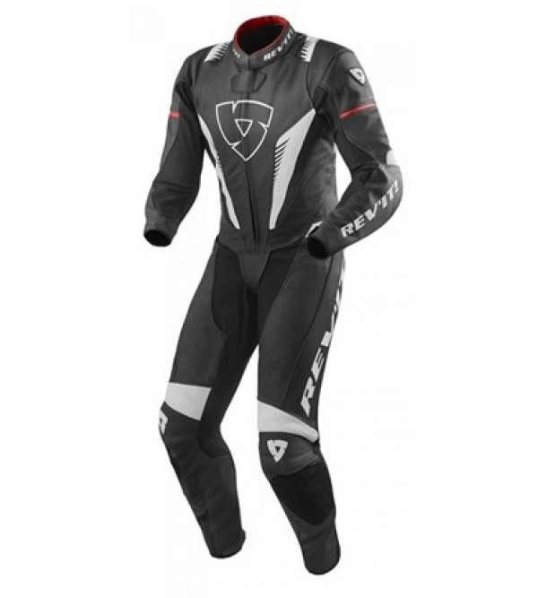 Rev'it One Pice Suit Venom Black/White/Red