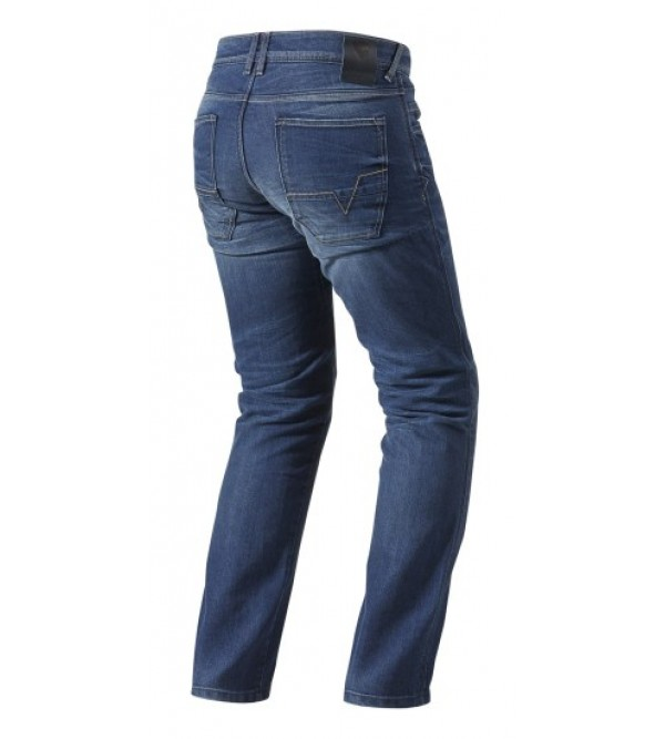 Rev'it Bikses Jeans Austin TF Medium Zilas
