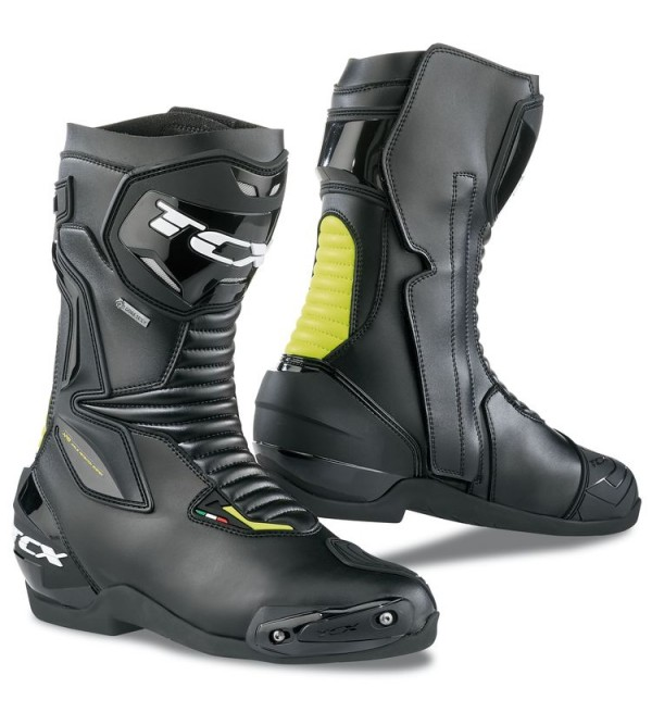 TCX Boots SP-Master Gore-Tex BLACK-YELLOW FLUO