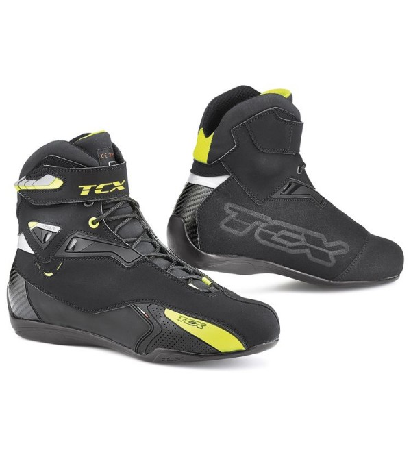 TCX Boots RUSH WP BLACK-YELLOW FLUO