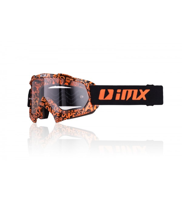 iMX goggles Mud Graphic Orange matt/Black
