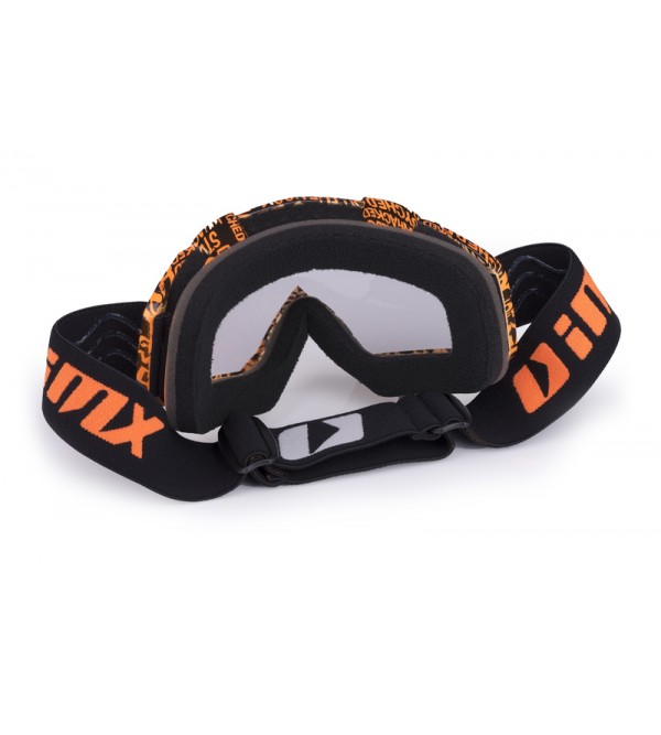 iMX brilles Mud Graphic Orange matt/Black