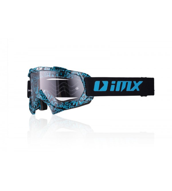 iMX goggles Mud Graphic Blue/Black