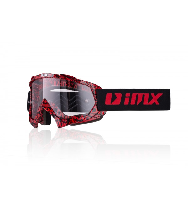 iMX goggles Mud Graphic Red/Black